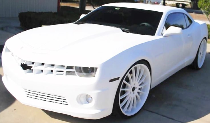 Lebron-James-Camaro-white