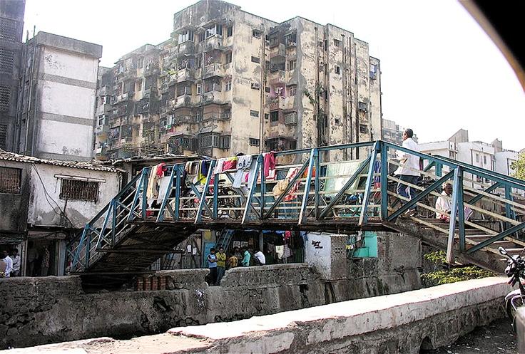 Dharavi is a slum in Mumbai, India