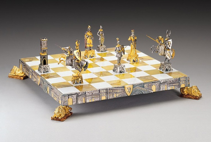 Medieval Venice Chess Set