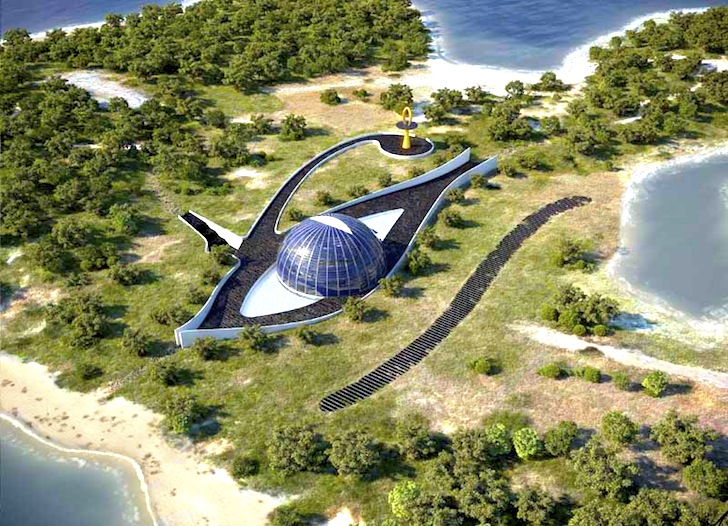Naomi Campbell's 'Eye of Horus' House (Turkey)