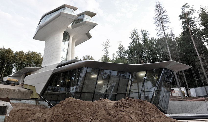 Naomi Campbell's Spaceship House (Moscow)