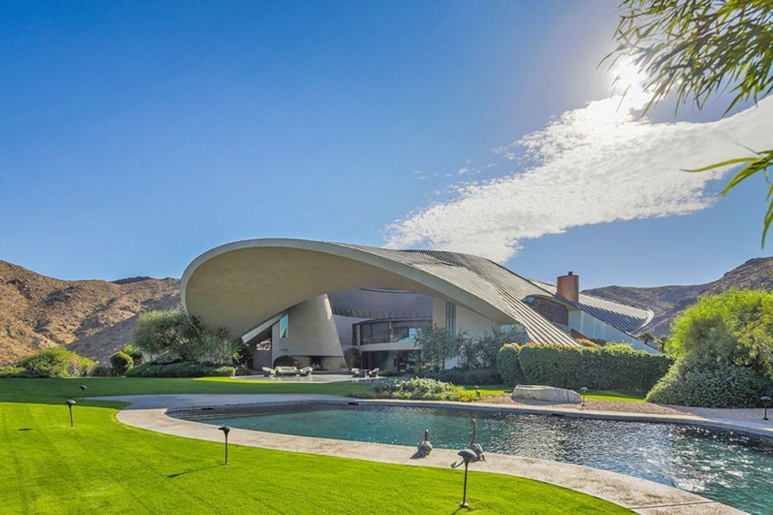 Bob Hope's Space-Age House