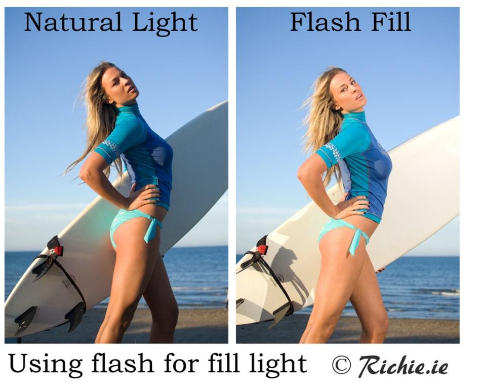 Flash for Fill light