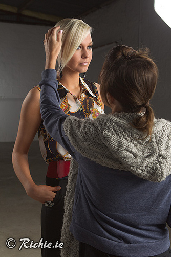 Behind the scenes with Aisling and Julie Caulfied