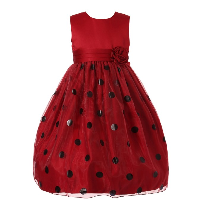 Dress with Polka Dots & Tulle