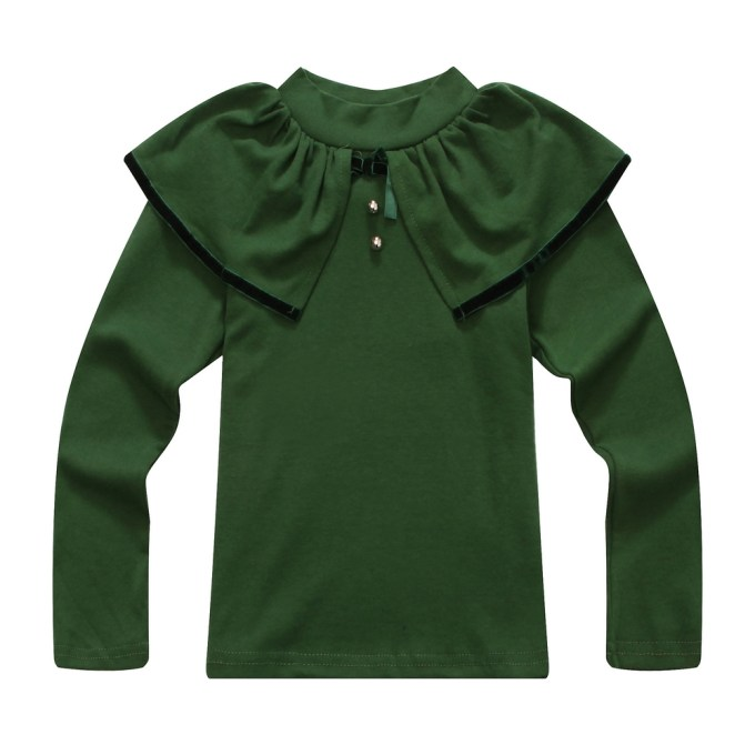 Top with Decorative Layered Collar