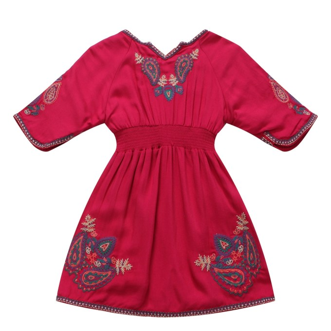 Dresses with Embroidery