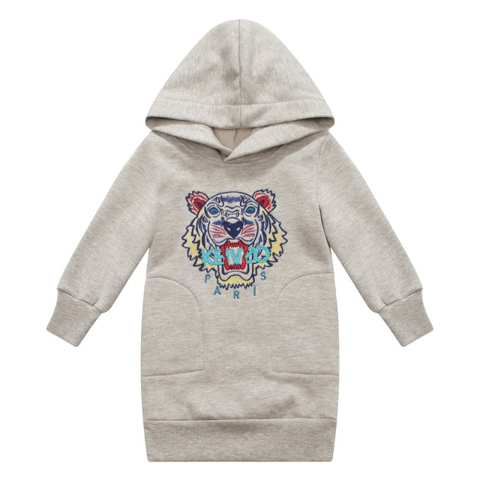 Fleece Pullover with Tiger
