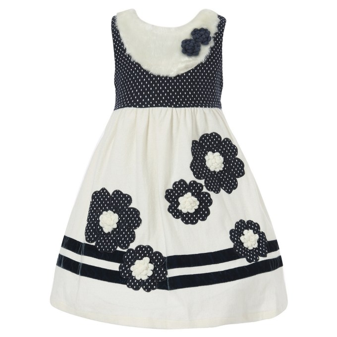 Dress with Embroidery and Crochet