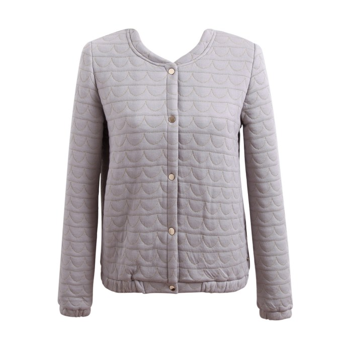 Thin Solid Quilted Jacket