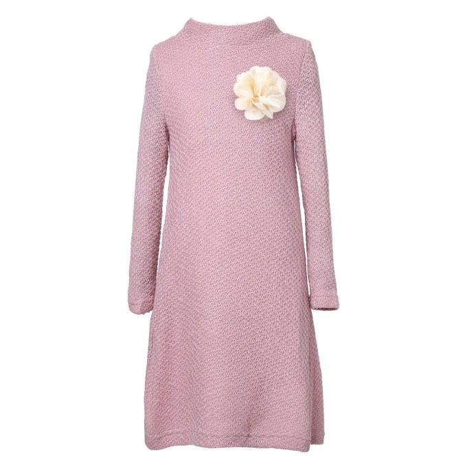 Medium Winter Dress with Flower