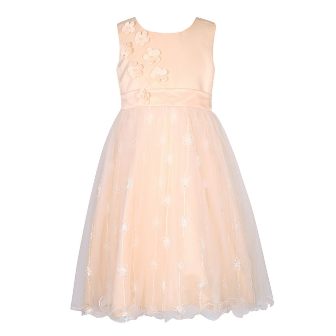 Party Princess Dress with Little Flowers