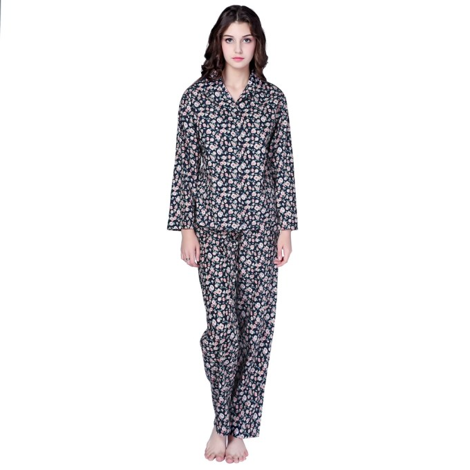 Cotton Sleepwear Two-piece Set