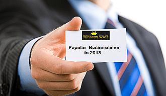 most popular businessmen in the world