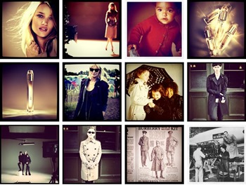 Burberry and Instagram