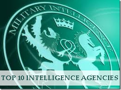 Top 10 Intelligence Agencies in 2013