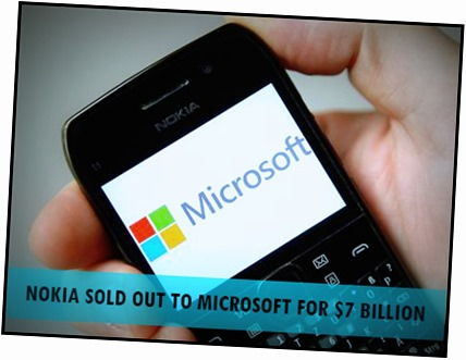 Stephen Elop sold out Nokia to Microsoft for $7 Billion