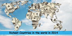 Richest countries in the world in 2014