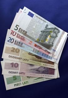 lativian euro
