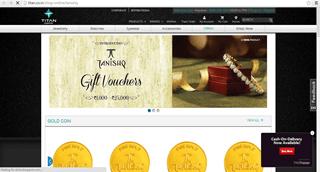 tanishq.com Indian jewelry website