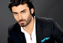 Fawad Khan popular Pakistani male actor