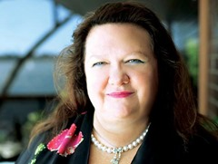 Gina Rinehart richest female 2014