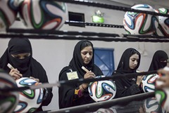 History of Sports Good Manufacturing why FIFA Football Was Chosen from Pakistan's Sports Goods Factory