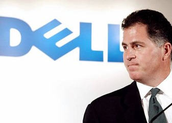 Michael Dell business tycoon from the IT industry