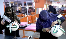 More Percentage of Female workers why FIFA Football Was Chosen from Pakistan's Sports Goods Factory