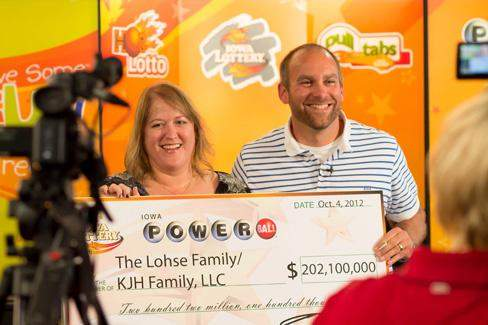Mary and Brian Lohse rosa Deleon and Reginald Leblanc David and erica harrig Maureen and Stephen hinckley  Powerball Jackpot in US