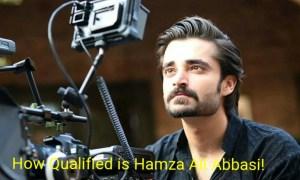 how qualified is hamza ali abbasi