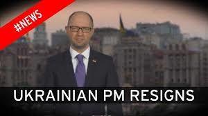 Arseniy Yatsenyuk resigns - Panama leaks
