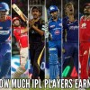 How Much IPL Players Earn In a Single Match