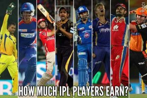 IPL players earning