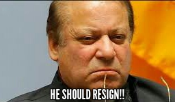 Nawaz Sharif should resign