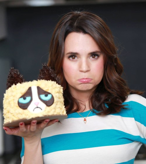 Rosanna Pansino and her cakes
