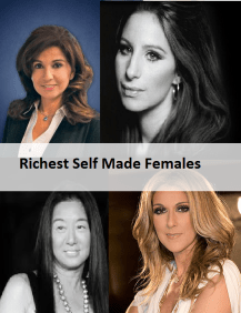 Richest Self Made Females