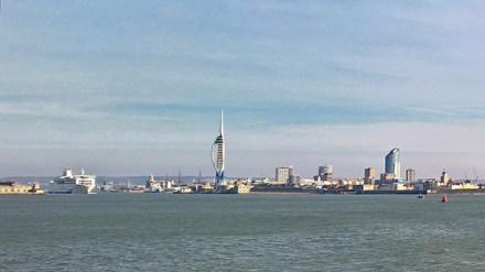 Leaving Portsmouth