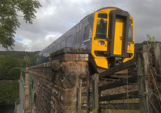 Train heading North