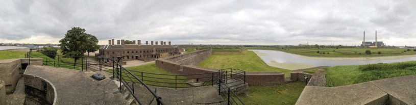 Tilbury Fort Panorama