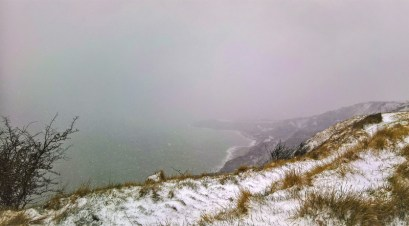 On the Cliffs above Folkestone