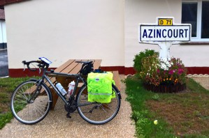 Arrived at Azincourt