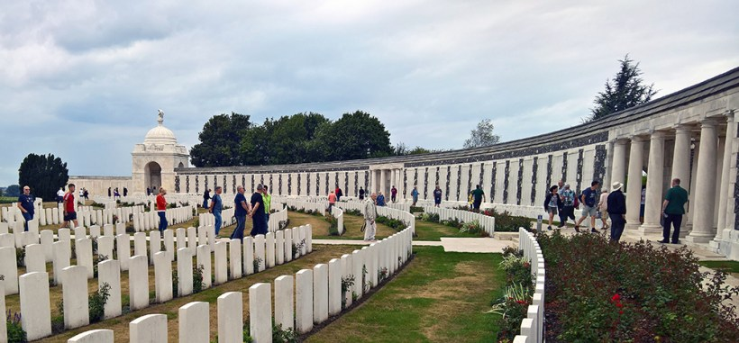 Tyne Cot Wall of the Missing