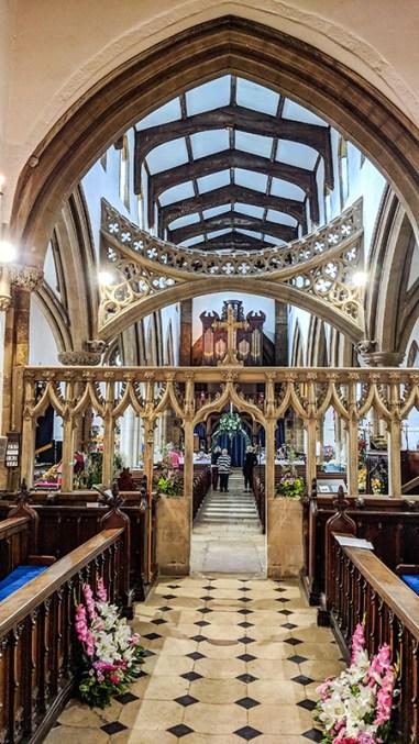 Finedon Church Flower Festival