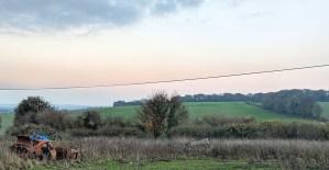 Approaching Eynsford
