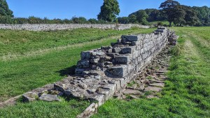 Wall near Chollerford