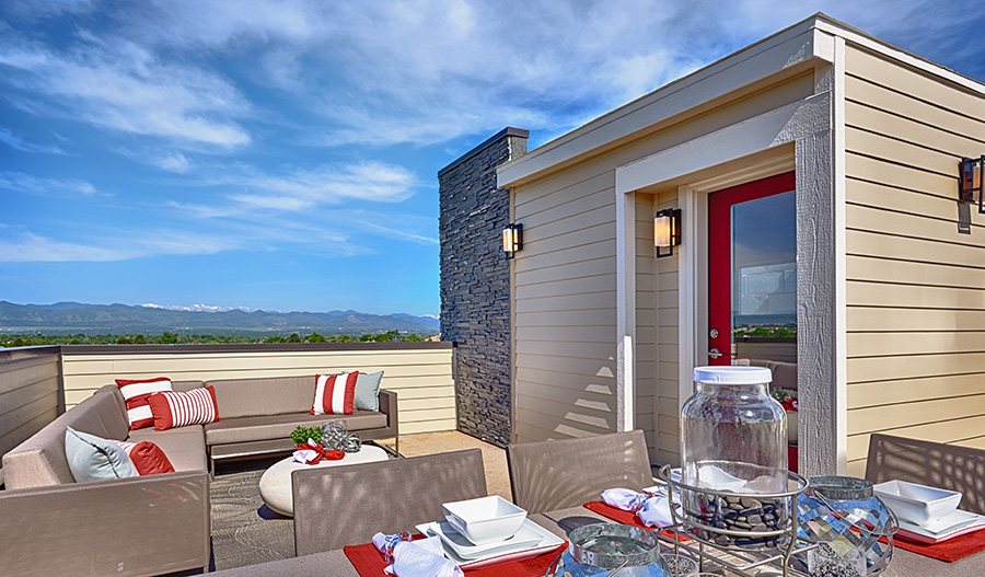 cityscapes at the meadows castle rock community richmond american homes