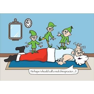 Christmas Cartoon 2 Richmond Chiropractic Centre