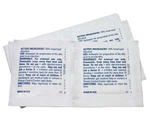 Alcohol Pads for Wound Care
