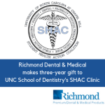 Richmond Dental Makes Three-Year Gift to UNC School of Dentistry